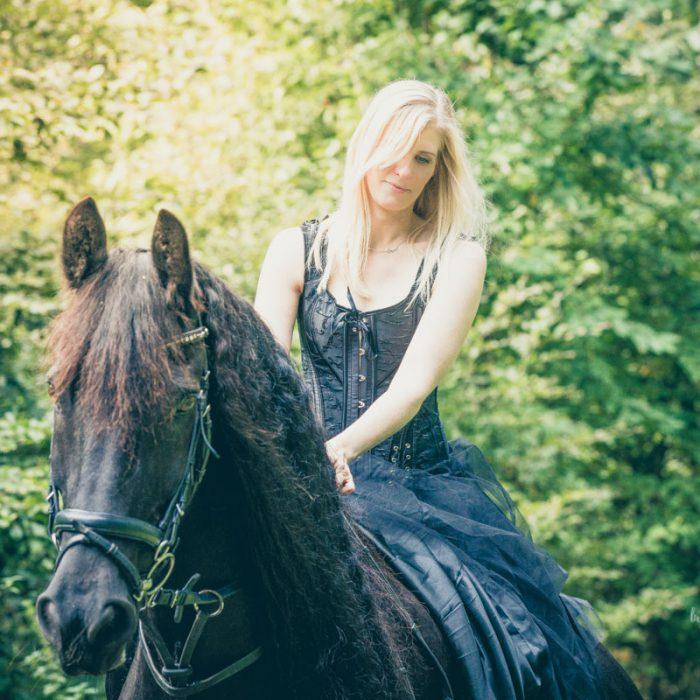 Pferdeshooting mit Nina und Zausel (1) | © Michael Eichhorn | www.sehtüchtig.de