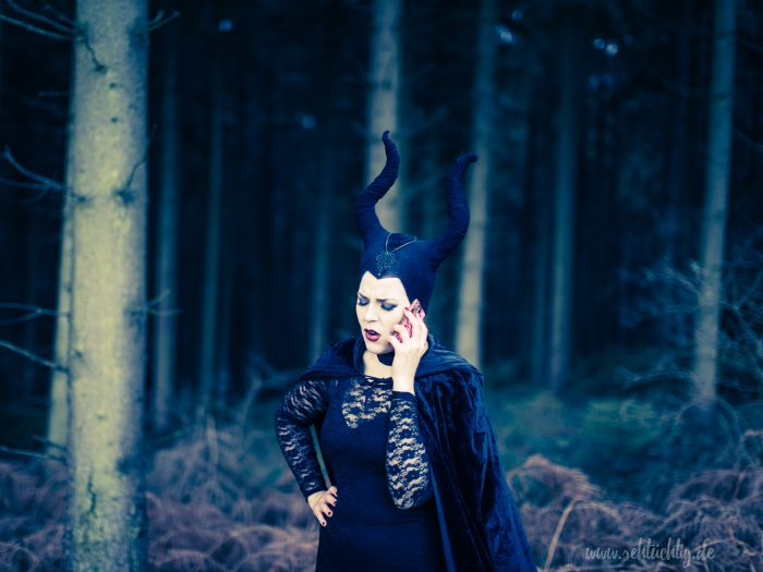 Maleficent-Shooting mit Annika im November 2016