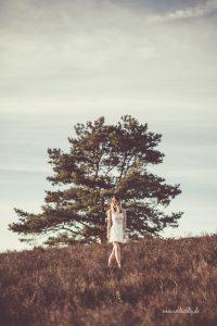 Shooting mit Marie-Claire in der Gifhorner Heide
