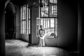 Shooting mit der Braut Kinga im Schloss Wolfenbüttel