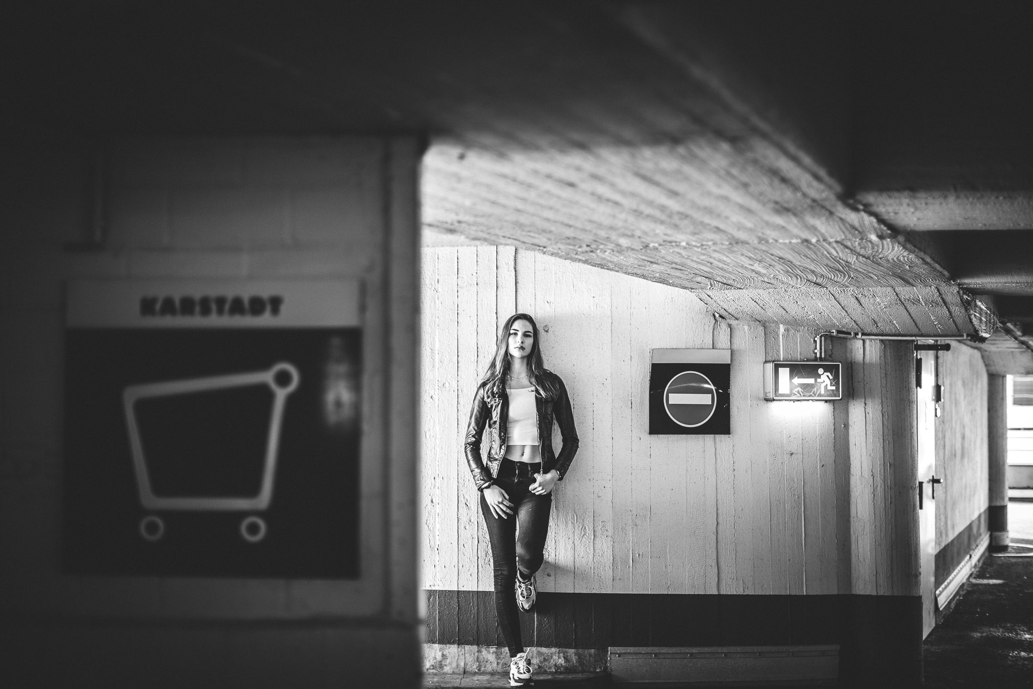 Die Braunschweiger Innenstadt – Ein Shooting mit Finja