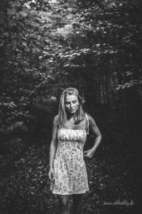 Spätsommer-Shooting mit Emma-Lina im Braunschweiger Wald